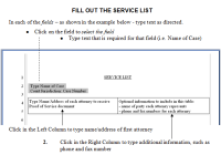 service-of-process-service-list