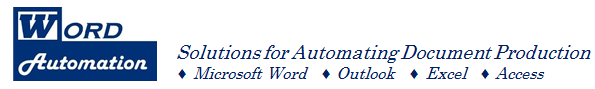 Word Automation